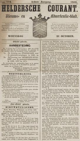 Heldersche Courant 1868-10-21