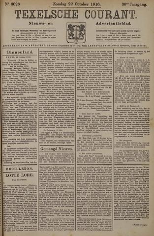 Texelsche Courant 1916-10-22