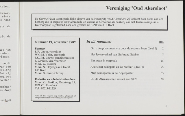 De Groene Valck 1989-11-01
