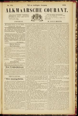 Alkmaarsche Courant 1883-12-30