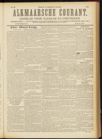 Alkmaarsche Courant 1917-03-22