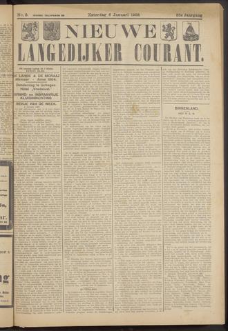Nieuwe Langedijker Courant 1923-01-06