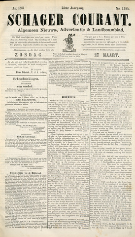 Schager Courant 1881-03-27