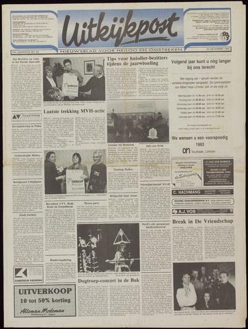 Uitkijkpost : nieuwsblad voor Heiloo e.o. 1992-12-30