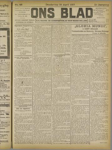 Ons Blad : katholiek nieuwsblad voor N-H 1917-04-19