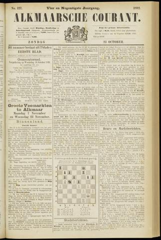 Alkmaarsche Courant 1892-10-23