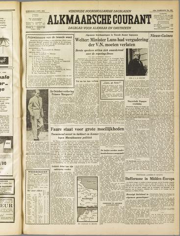 Alkmaarsche Courant 1955-10-05