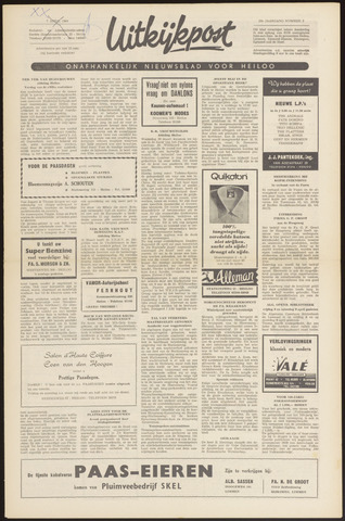 Uitkijkpost : nieuwsblad voor Heiloo e.o. 1966-04-07