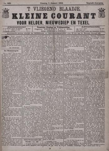 Vliegend blaadje : nieuws- en advertentiebode voor Den Helder 1881-01-04