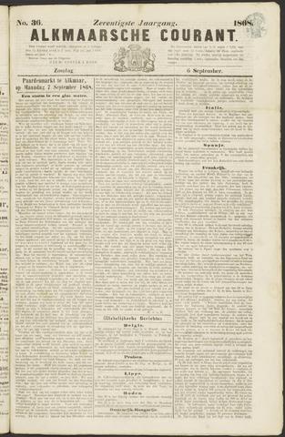 Alkmaarsche Courant 1868-09-06