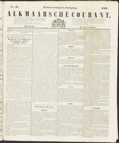 Alkmaarsche Courant 1869-10-10