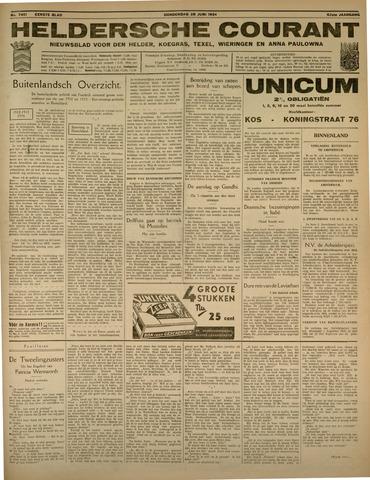 Heldersche Courant 1934-06-28