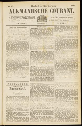 Alkmaarsche Courant 1903-07-31