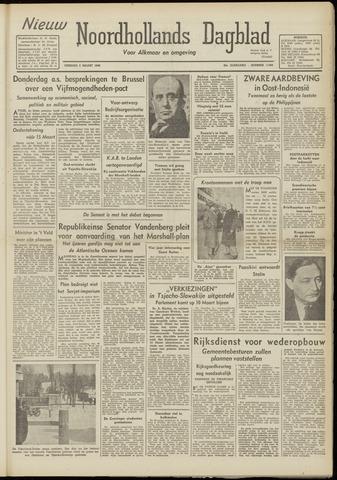 Nieuw Noordhollandsch Dagblad : voor Alkmaar en omgeving 1948-03-02