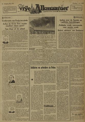 De Vrije Alkmaarder 1947-07-01