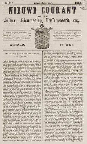 Nieuwe Courant van Den Helder 1864-05-18