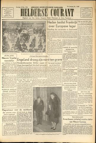 Heldersche Courant 1952-02-16