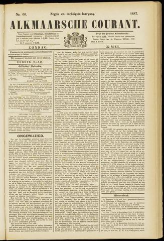 Alkmaarsche Courant 1887-05-22