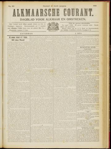 Alkmaarsche Courant 1908-05-02