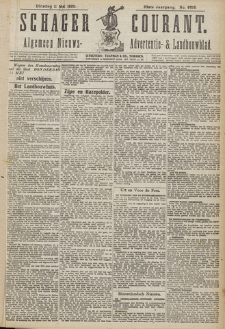Schager Courant 1920-05-11
