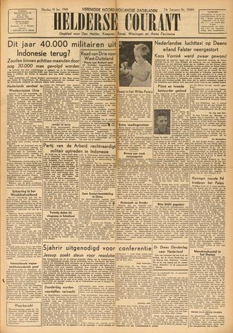 Heldersche Courant 1949-01-18