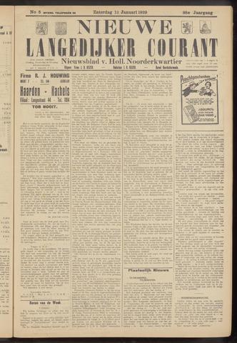 Nieuwe Langedijker Courant 1929-01-12