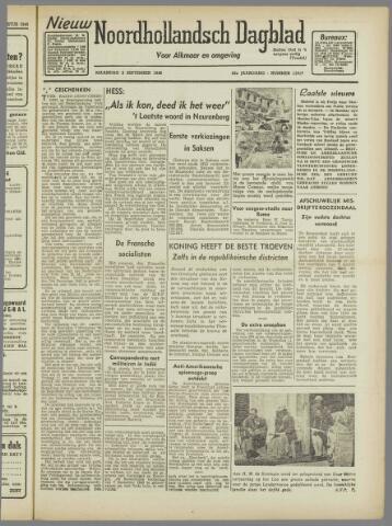 Nieuw Noordhollandsch Dagblad : voor Alkmaar en omgeving 1946-09-02