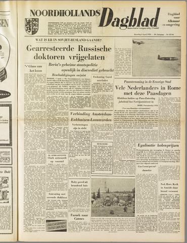 Noordhollands Dagblad : dagblad voor Alkmaar en omgeving 1953-04-04