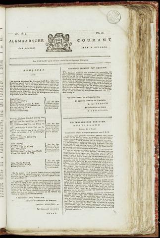 Alkmaarsche Courant 1819-10-18