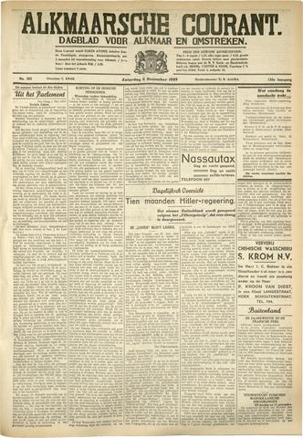 Alkmaarsche Courant 1933-12-02