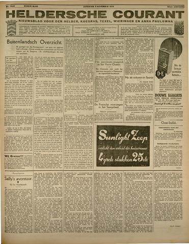 Heldersche Courant 1934-11-03