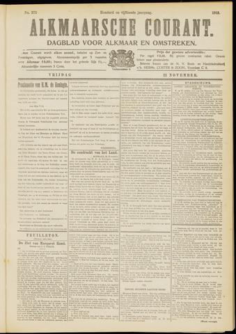 Alkmaarsche Courant 1913-11-21