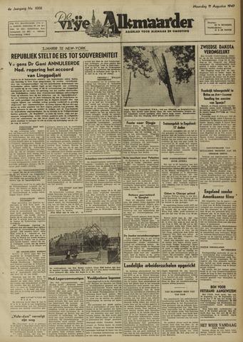 De Vrije Alkmaarder 1947-08-11