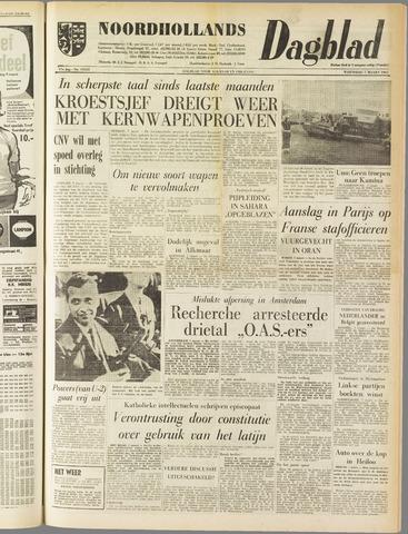 Noordhollands Dagblad : dagblad voor Alkmaar en omgeving 1962-03-07