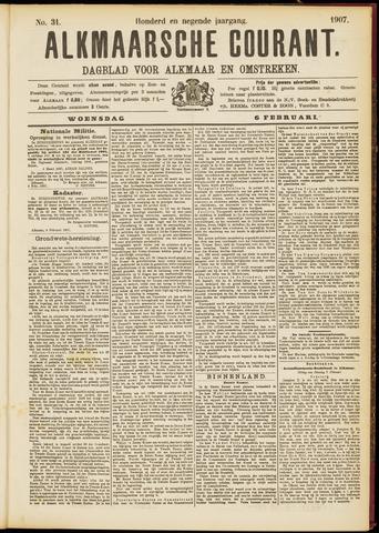 Alkmaarsche Courant 1907-02-06