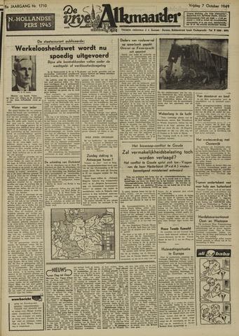 De Vrije Alkmaarder 1949-10-07