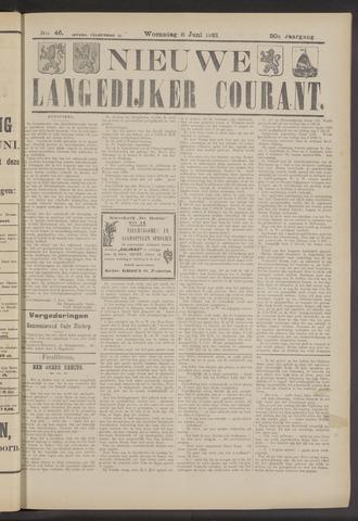 Nieuwe Langedijker Courant 1921-06-08