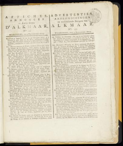 Alkmaarsche Courant 1813-11-03