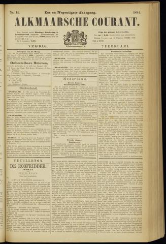 Alkmaarsche Courant 1894-02-02