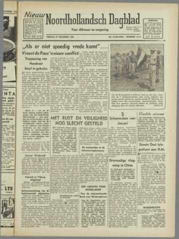 Nieuw Noordhollandsch Dagblad : voor Alkmaar en omgeving 1946-12-27