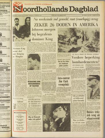 Noordhollands Dagblad : dagblad voor Alkmaar en omgeving 1968-04-08