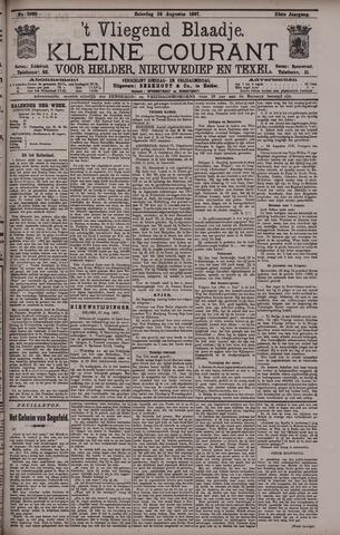 Vliegend blaadje : nieuws- en advertentiebode voor Den Helder 1897-08-28