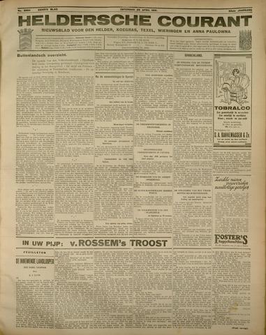 Heldersche Courant 1931-04-25