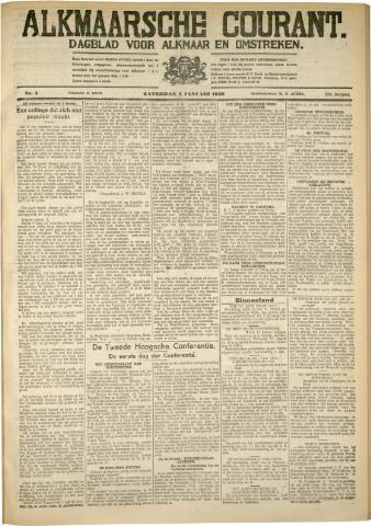 Alkmaarsche Courant 1930-01-04