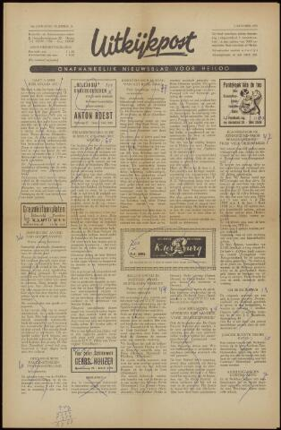 Uitkijkpost : nieuwsblad voor Heiloo e.o. 1958-09-26