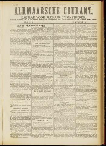 Alkmaarsche Courant 1915-08-27
