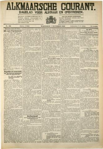 Alkmaarsche Courant 1930-10-01