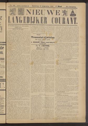 Nieuwe Langedijker Courant 1922-08-19