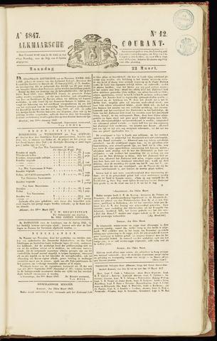 Alkmaarsche Courant 1847-03-22