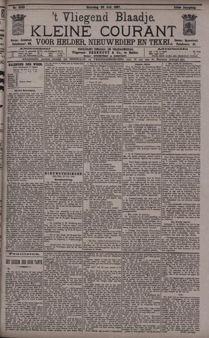 Vliegend blaadje : nieuws- en advertentiebode voor Den Helder 1897-07-24